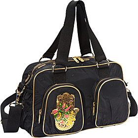 Gypsy Frill Carryall Manoush Embroidery