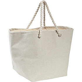 Jute and Cotton Natural Tote Natural