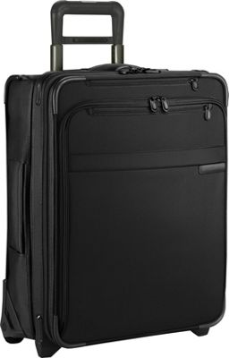 Briggs & Riley Baseline Domestic Carry-On Exp. Upright Black - Briggs & Riley Softside Carry-On