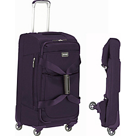 Contempo Foldable 26'' Spinner Duffle Purple