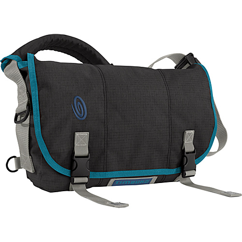 Timbuk2 Eco-Friendly Full-Cycle Messenger Bag - S Black Recycled Ripstop - Timbuk2 Messenger Bags