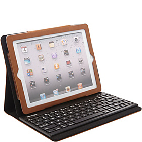 Keyfolio Pro2 for the New iPad & iPad 2 Caramel Brown