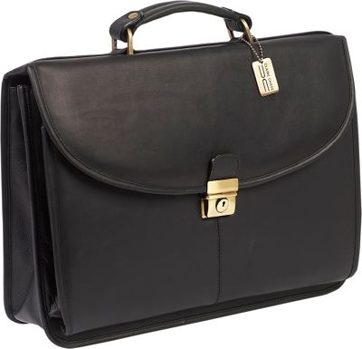 ClaireChase Lawyers Briefcase Black - ClaireChase Non-Wheeled Business Cases