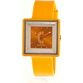 Square Watch Yellow