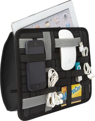 Cocoon Cocoon Grid-It! Organizer Wrap CPG-36 Grey - Cocoon Travel Organizers