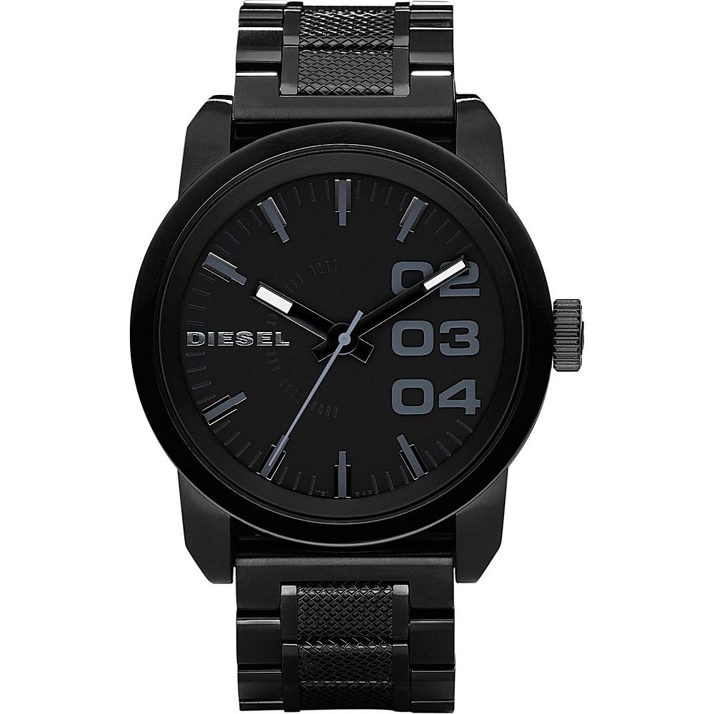 Diesel Watches Franchise 46 Black/Black - Diesel Watches Watches