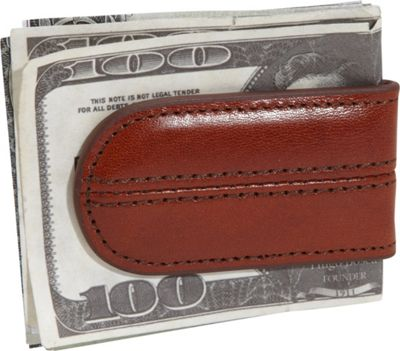 Bosca Old Leather Money Clip Old Leather Amber