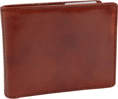 Bosca Old Leather Executive ID Wallet Old Leather Amber