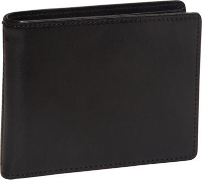 Bosca Old Leather Executive ID Wallet Black - Bosca Men's Wallets