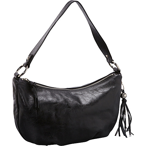 Hobo Phoebe Shoulder Bag Black - Hobo Leather Handbags
