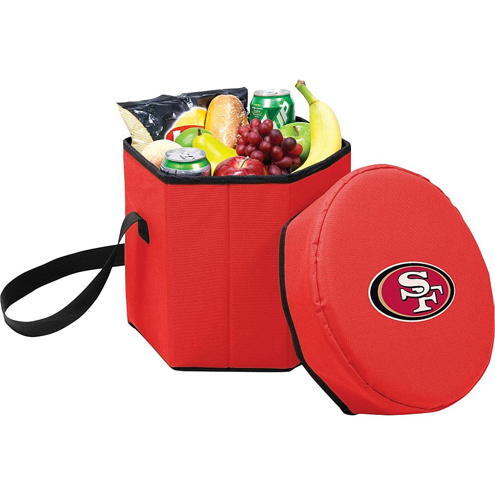 Picnic Time San Francisco 49ers Bongo Cooler San Francisco 49ers Red - Picnic Time Outdoor Coolers - Outdoor, Outdoor Coolers