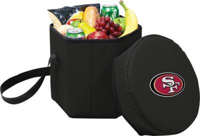 Picnic Time San Francisco 49ers Bongo Cooler San Francisco 49ers Black - Picnic Time Outdoor Coolers