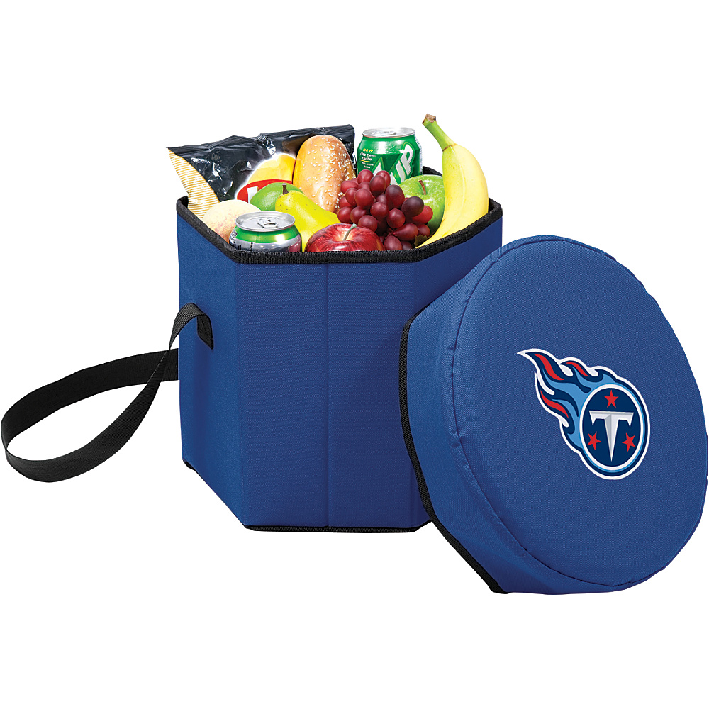 Picnic Time Tennessee Titans Bongo Cooler Tennessee Titans Navy - Picnic Time Outdoor Coolers - Outdoor, Outdoor Coolers