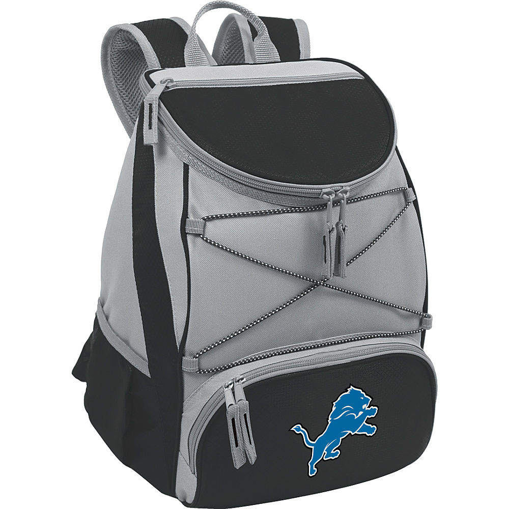 Picnic Time Detroit Lions PTX Cooler Detroit Lions Black - Picnic Time Outdoor Coolers - Outdoor, Outdoor Coolers