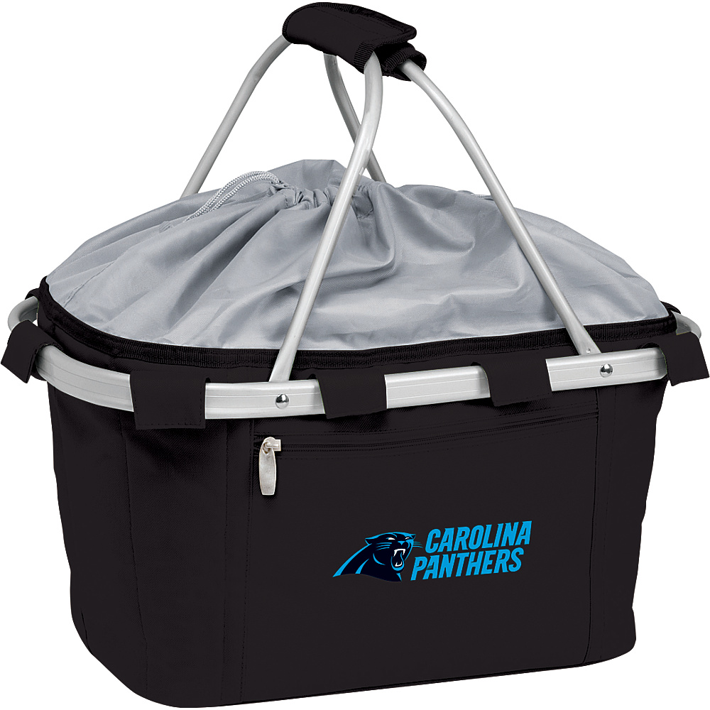 Picnic Time Carolina Panthers Metro Basket Carolina Panthers Black - Picnic Time Outdoor Coolers - Outdoor, Outdoor Coolers
