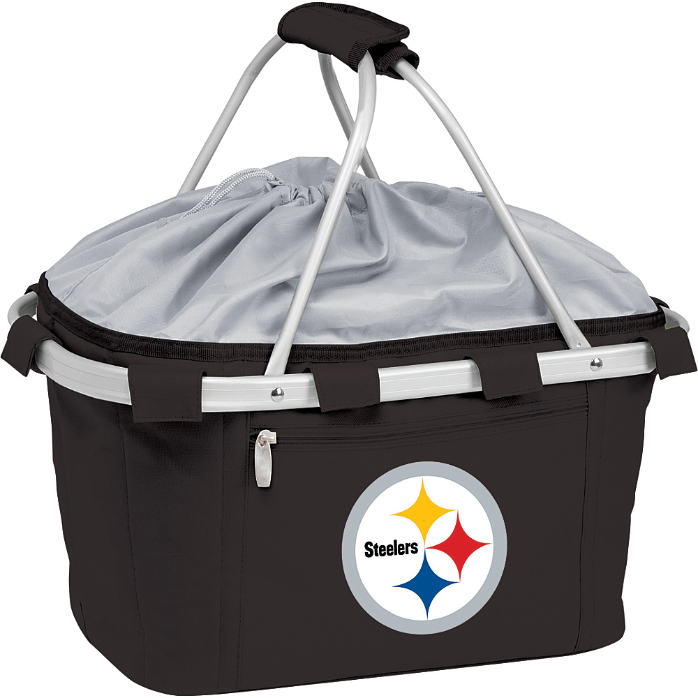 Picnic Time Pittsburgh Steelers Metro Basket Pittsburgh Steelers Black - Picnic Time Outdoor Coolers - Outdoor, Outdoor Coolers