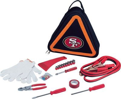 Picnic Time Picnic Time San Francisco 49ers Roadside Emergency Kit San Francisco 49ers - Picnic Time Trunk and Transport Organization