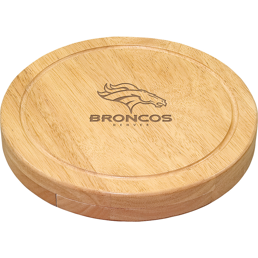 Picnic Time Denver Broncos Cheese Board Set Denver Broncos - Picnic Time Outdoor Accessories - Outdoor, Outdoor Accessories