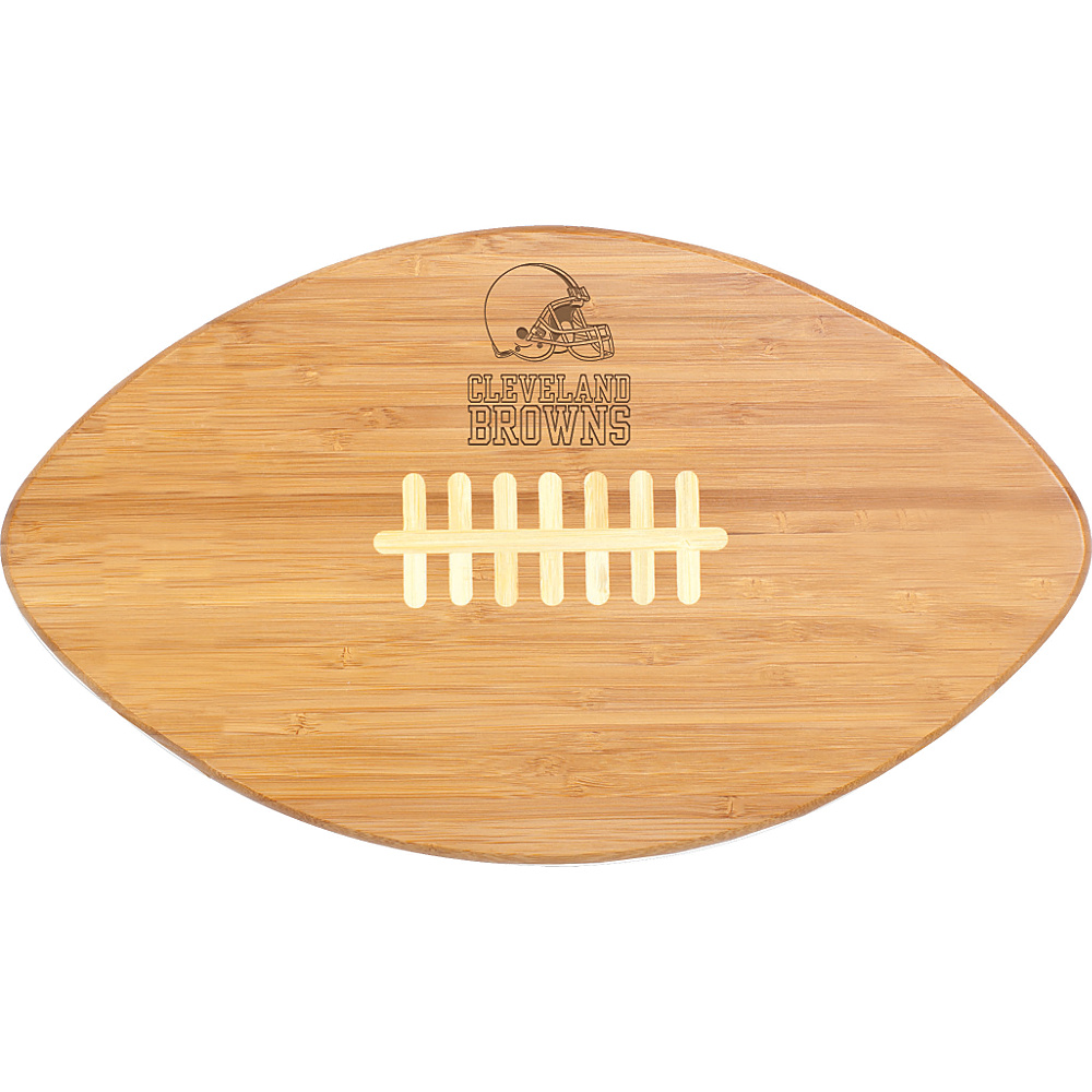 Picnic Time Cleveland Browns Touchdown Pro! Cutting Board Cleveland Browns - Picnic Time Outdoor Accessories - Outdoor, Outdoor Accessories