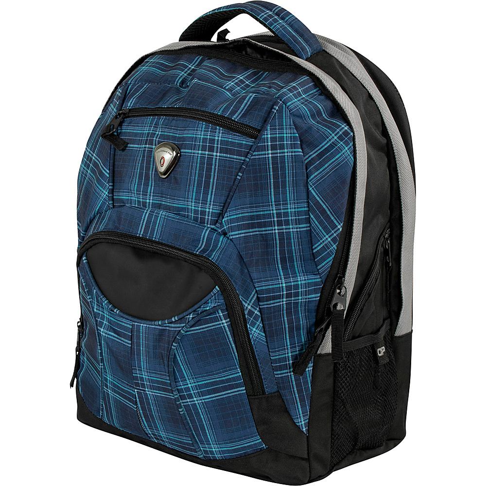 CalPak Mentor 17-inch Deluxe Laptop Backpack Blue Ocean - CalPak Laptop Backpacks