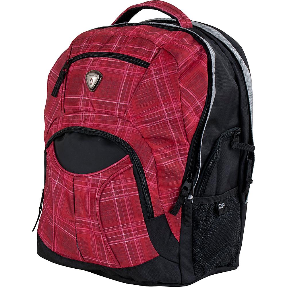 CalPak Mentor 17-inch Deluxe Laptop Backpack Red Ocean - CalPak Laptop Backpacks
