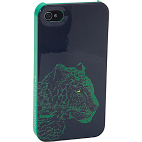 Snow Leopard iPhone Case- 4/4S Malachite