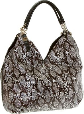 Buxton Margaret Hobo Dark Brown - Buxton Manmade Handbags