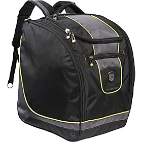 Pro Series Deluxe Trapezoid Boot Bag Black, Charcoal, Chartreuse