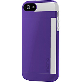 Stowaway for iPhone 5 Royal Purple/ Optical White