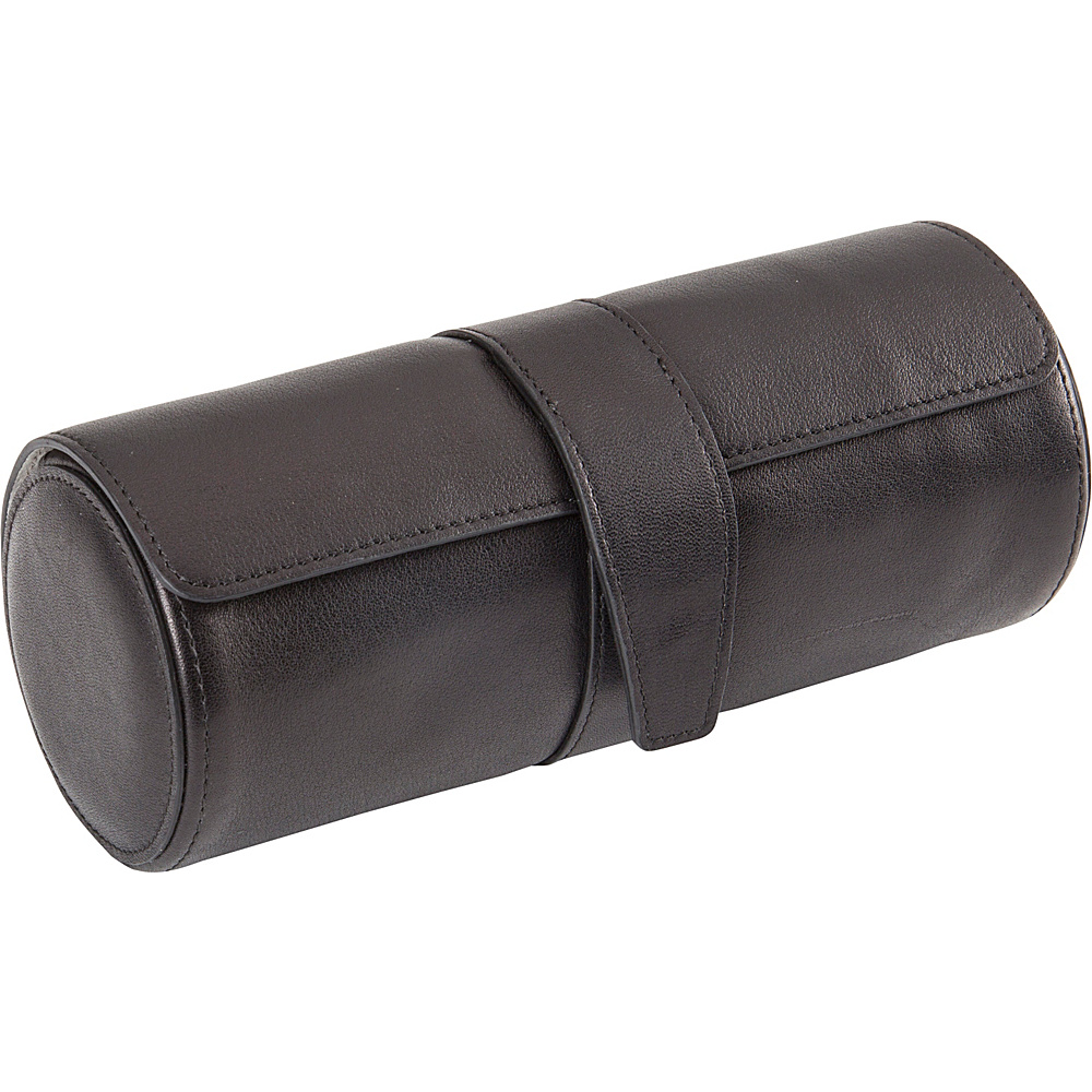 Royce Leather Deluxe Watch Roll Black - Royce Leather Business Accessories - Work Bags & Briefcases, Business Accessories