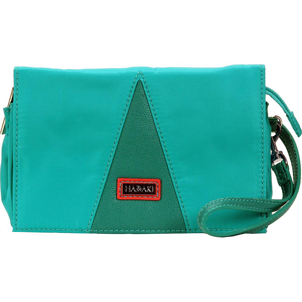 Hadaki Nylon Travel Wallet Viridian Green - Hadaki Travel Wallets - Travel Accessories, Travel Wallets