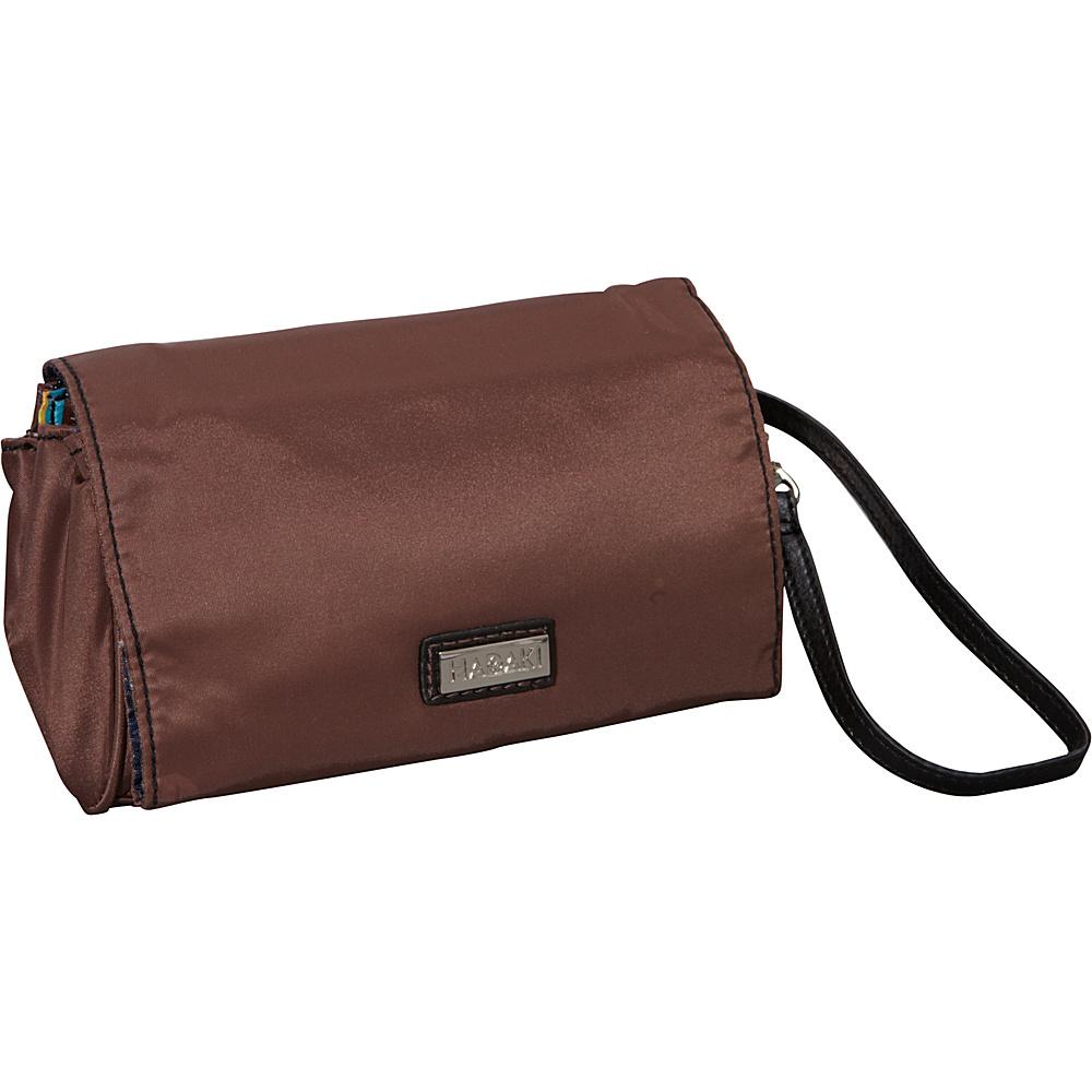 Hadaki Nylon Travel Wallet Chocolate/Black - Hadaki Travel Wallets - Travel Accessories, Travel Wallets
