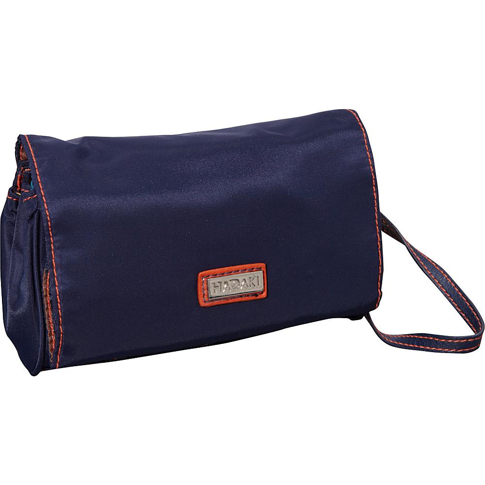 Hadaki Nylon Travel Wallet Navy/Orange - Hadaki Travel Wallets - Travel Accessories, Travel Wallets