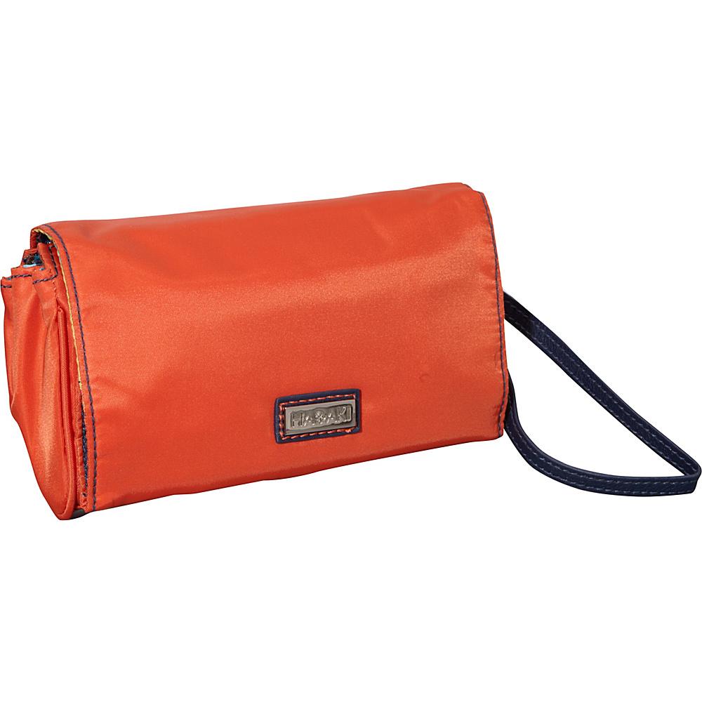 Hadaki Nylon Travel Wallet Orange/Navy - Hadaki Travel Wallets - Travel Accessories, Travel Wallets