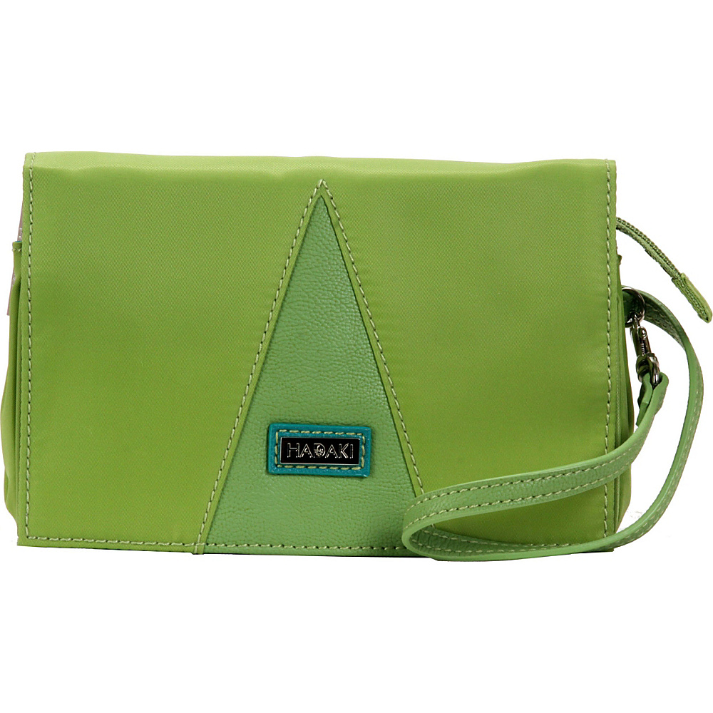 Hadaki Nylon Travel Wallet Piquat Green - Hadaki Travel Wallets - Travel Accessories, Travel Wallets
