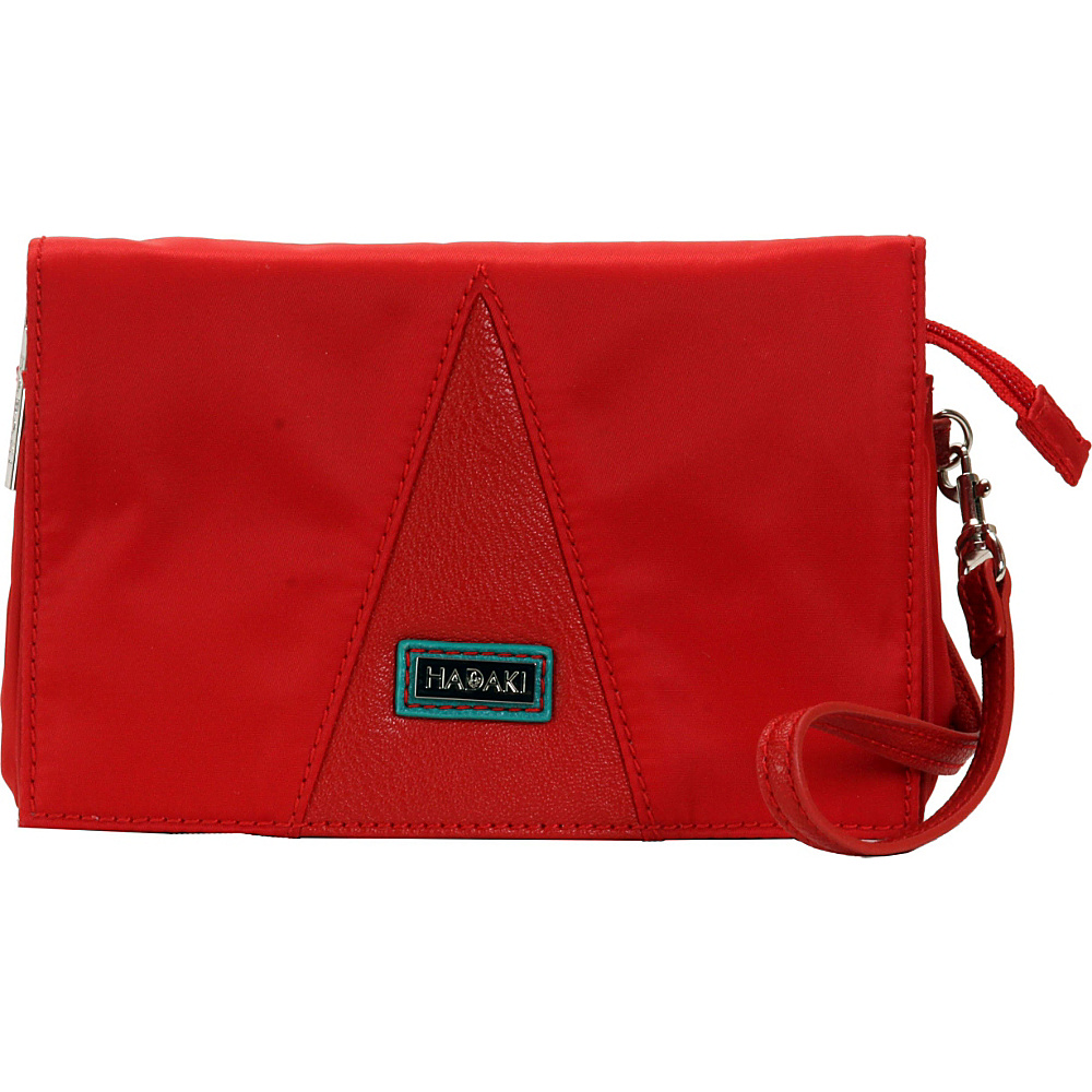 Hadaki Nylon Travel Wallet Tango Red - Hadaki Travel Wallets - Travel Accessories, Travel Wallets