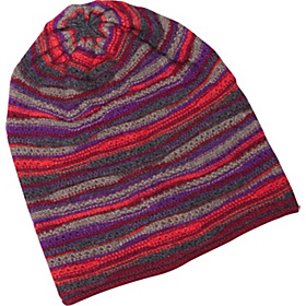 Wave Stitch Hat Bordeaux Multi