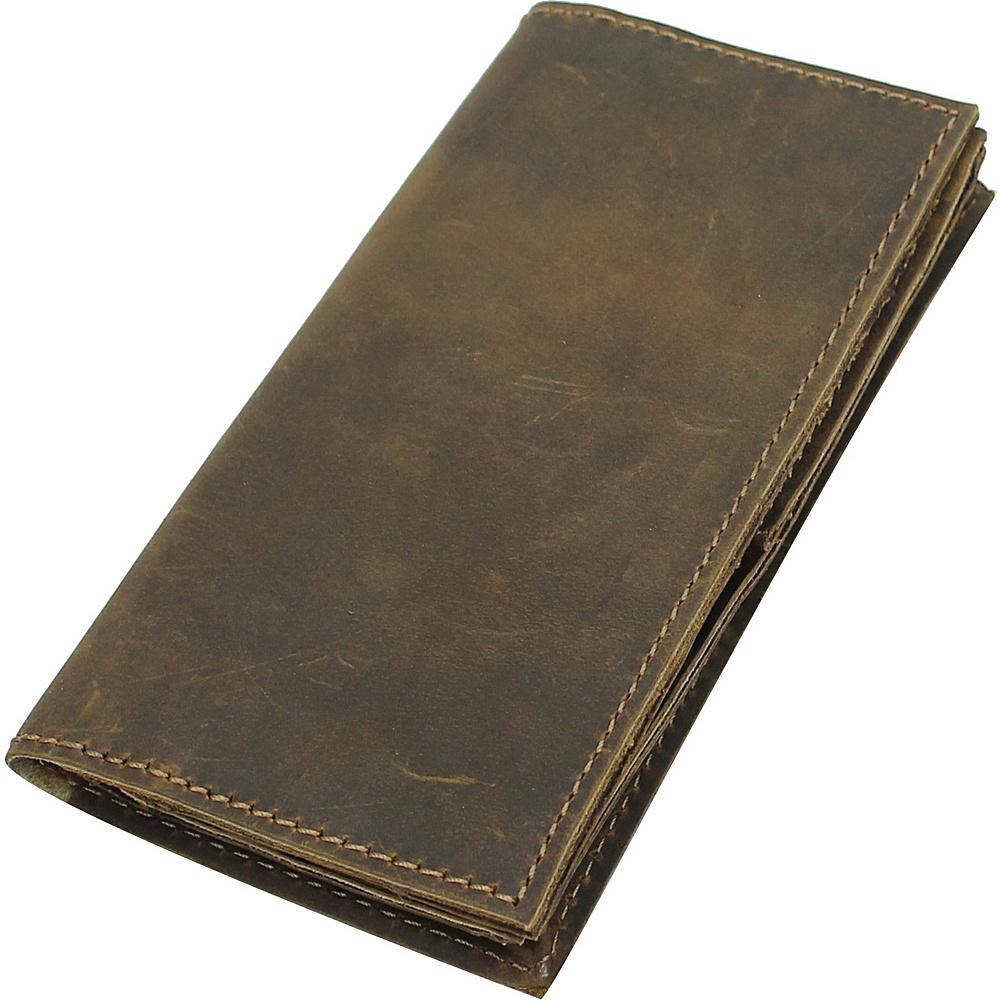 Vagabond Traveler Wanderer Full Leather CEO Wallet Vintage Brown - Vagabond Traveler Mens Wallets - Work Bags & Briefcases, Men's Wallets