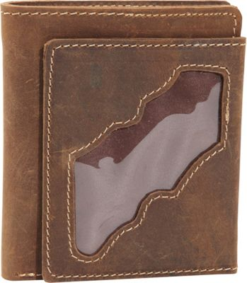 Vagabond Traveler WANDERER 4 - Classic Leather Bifold Wallet Vintage Brown - Vagabond Traveler Men's Wallets