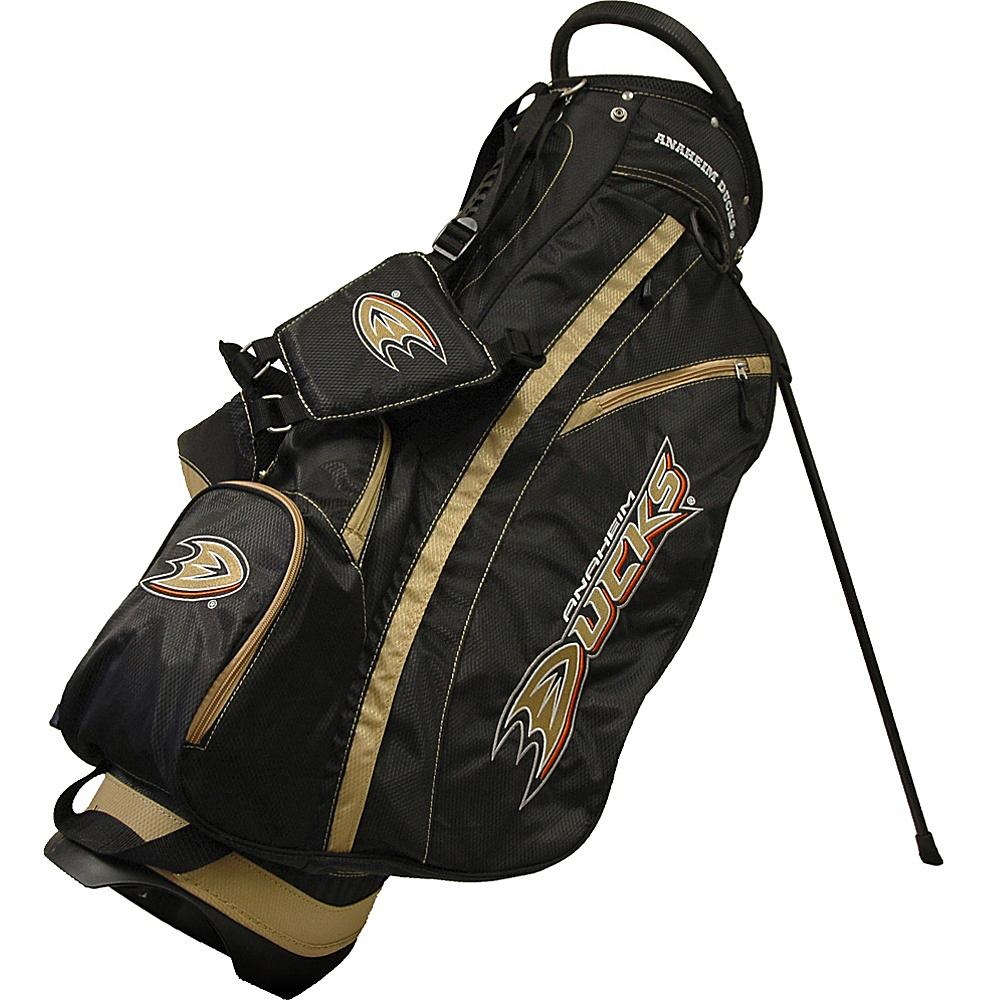 Team Golf USA NHL Anaheim Ducks Fairway Stand Bag Black - Team Golf USA Golf Bags