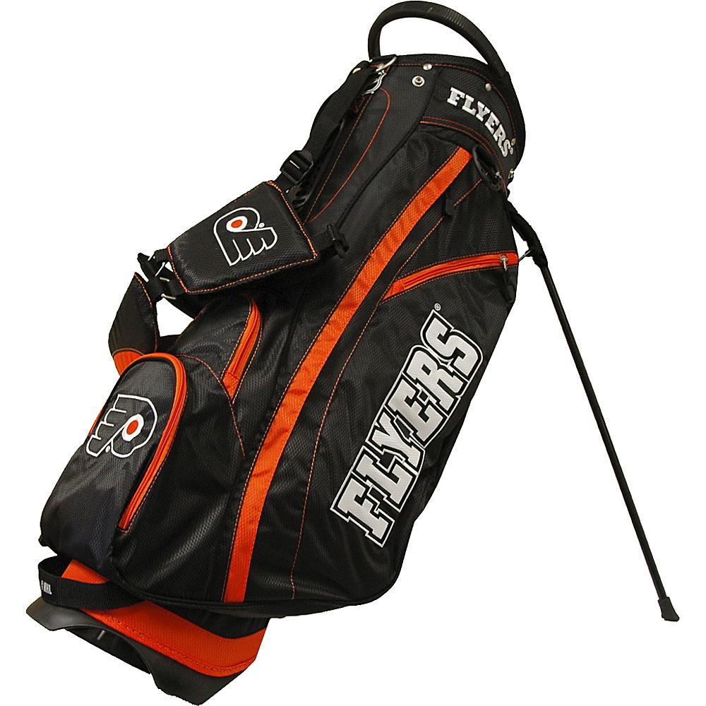 Team Golf USA NHL Philadelphia Flyers Fairway Stand Bag Black - Team Golf USA Golf Bags