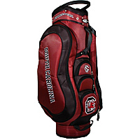 Team Golf NCAA University of South Carolina Gamecocks Medalist Cart Bag Maroon - Team Golf Golf Bags
