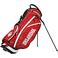 Team Golf NCAA University of Oklahoma Sooners Fairway Stand Bag Red - Team Golf Golf Bags