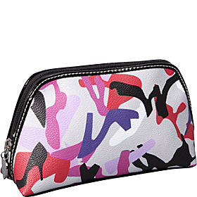Graphic Mix Up Cosmetic Case Grey Multi