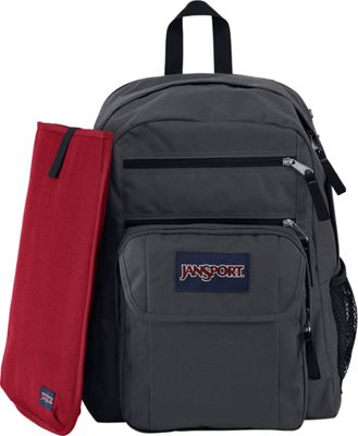 JanSport Digital Student Laptop Backpack Forge Grey - JanSport Business & Laptop Backpacks