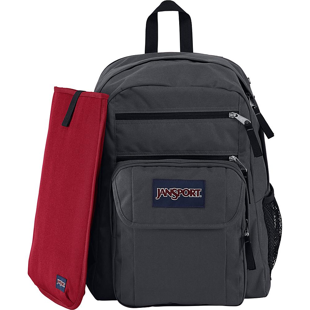 JanSport Digital Student Laptop Backpack Forge Grey - JanSport Business & Laptop Backpacks