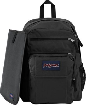 JanSport Digital Student Laptop Backpack Black/Forge Grey - JanSport Business & Laptop Backpacks