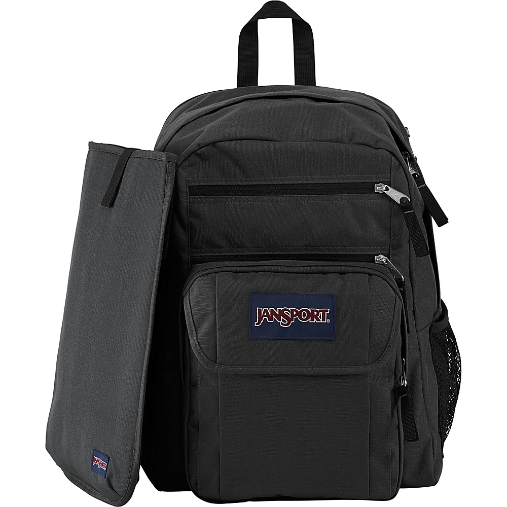 JanSport Digital Student Laptop Backpack Black/Forge Grey - JanSport Business & Laptop Backpacks