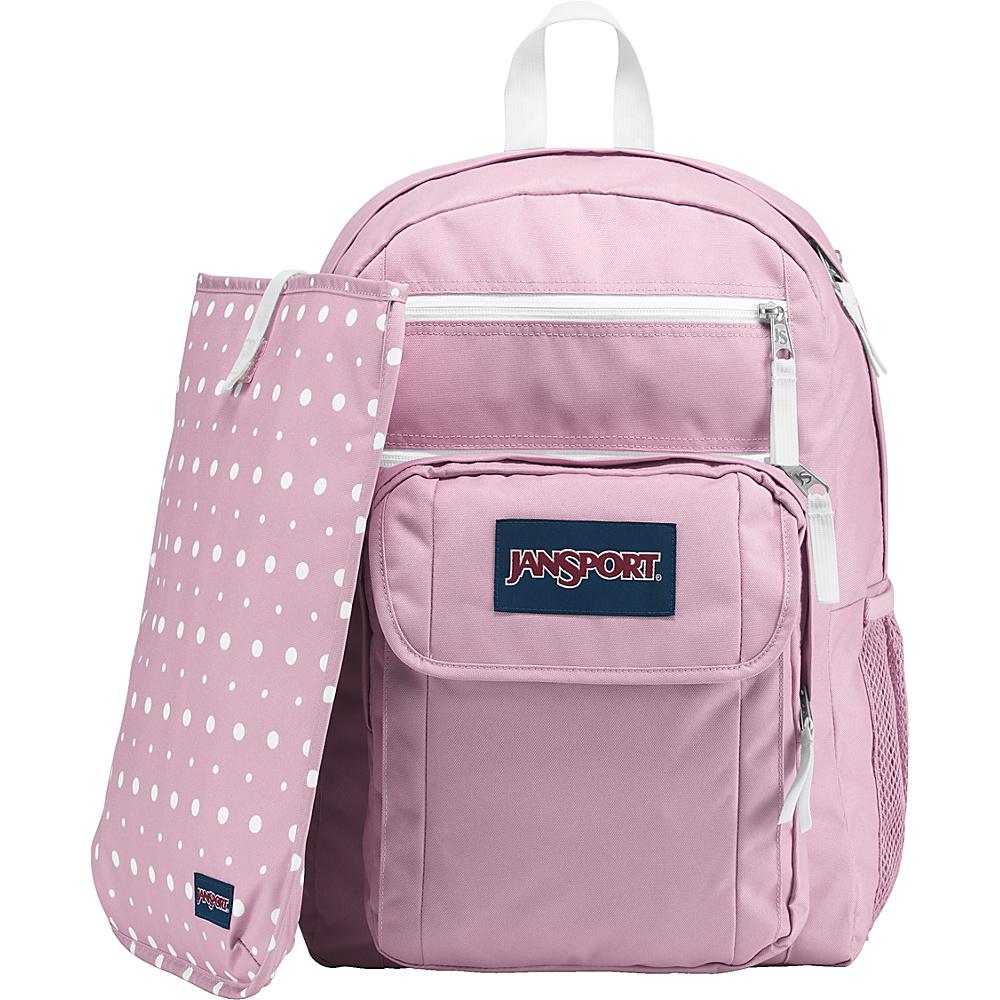 JanSport Digital Student Laptop Backpack Prism Pink - JanSport Business & Laptop Backpacks