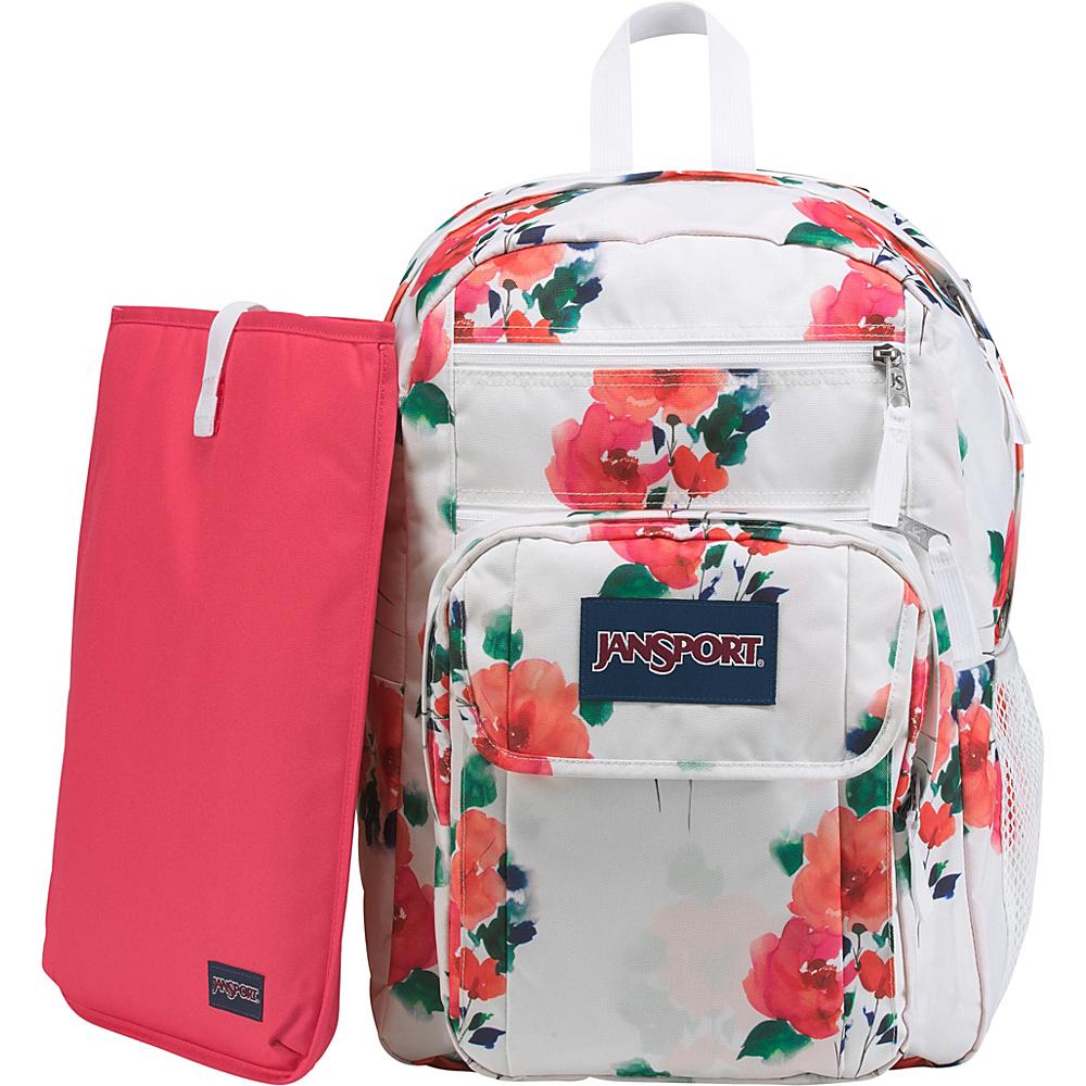 JanSport Digital Student Laptop Backpack Black Paintball - JanSport Business & Laptop Backpacks